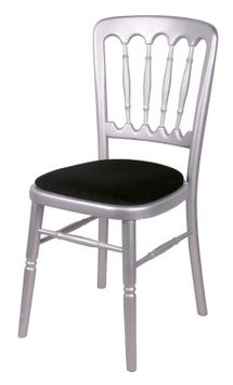 Silver Banquet Chair